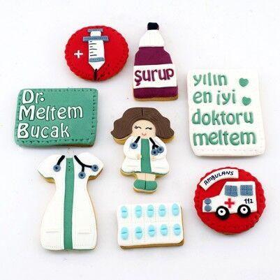 Bayan Doktorlara Özel Butik Kurabiye - Thumbnail