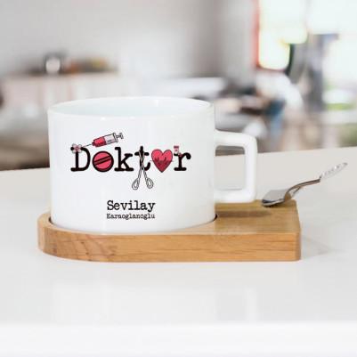 - Bayan Doktorlara Özel Çay Fincanı