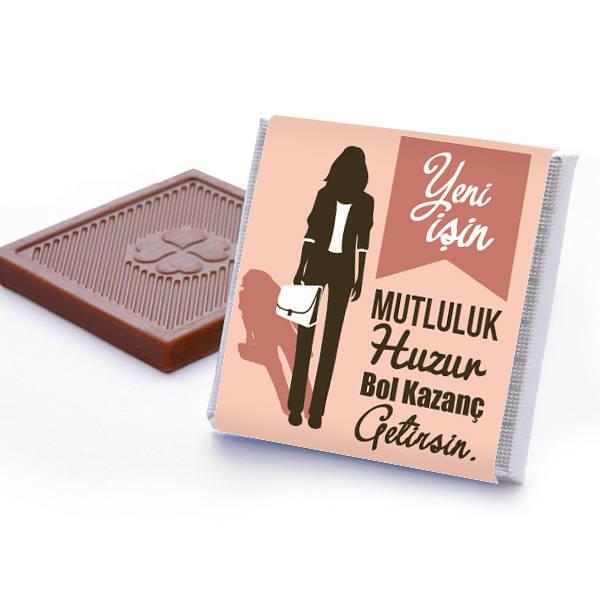 Bayana Yeni İş Hediyesi Çikolata