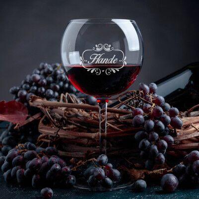 - Bayanlara Özel Şarap Kadehi