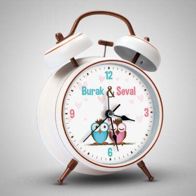 - Baykuş Temalı İsme Özel Çalar Saat