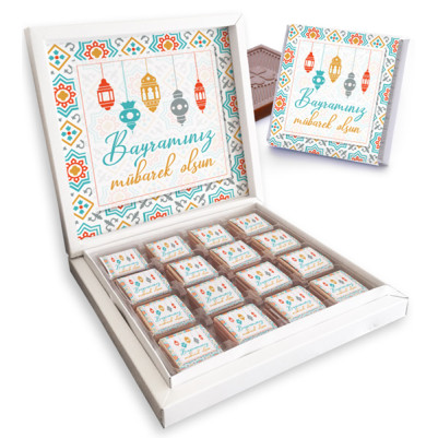 - Bayrama Özel Çikolata Kutusu