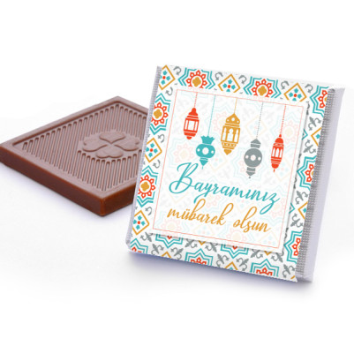 Bayrama Özel Çikolata Kutusu - Thumbnail