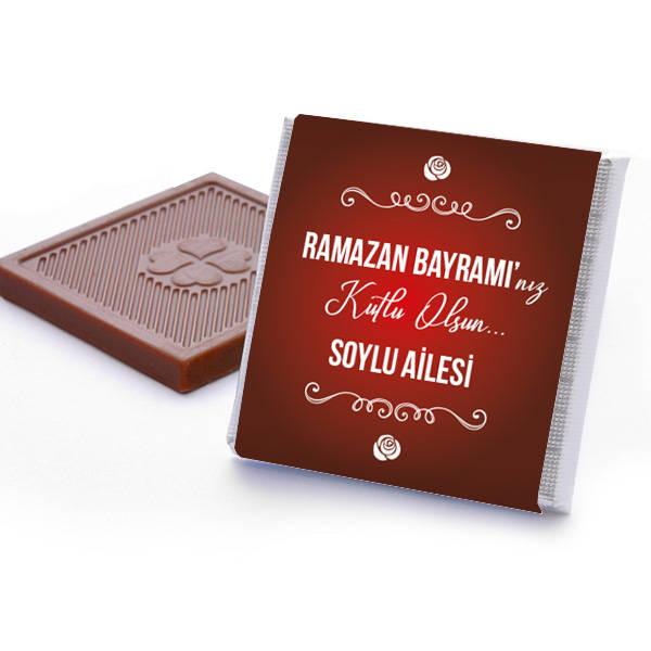 Bayrama Özel Hediyelik Çikolata