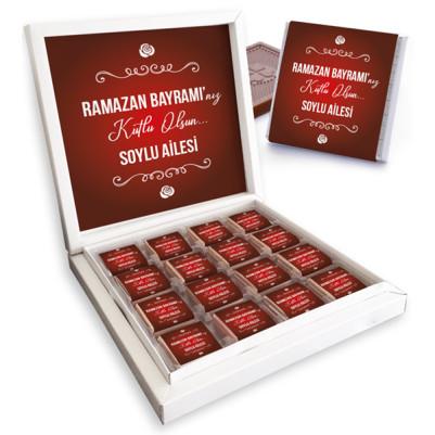 - Bayrama Özel Hediyelik Çikolata