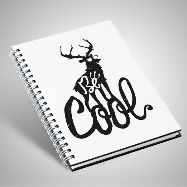 Be Cool Motto Tasarım Defter