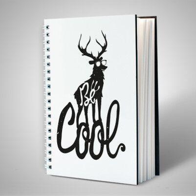 Be Cool Motto Tasarım Defter - Thumbnail