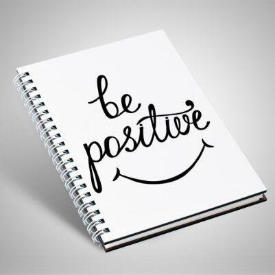 Be Positive Temalı Motto Defter - Thumbnail