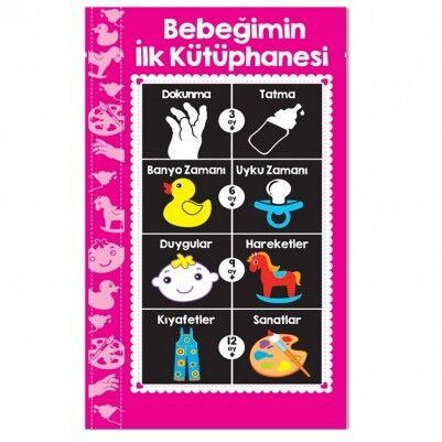 - Bebeğimin İlk Kütüphanesi Kitabı -PEMBE
