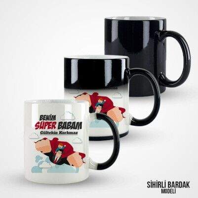 Benim Süper Babam Kupa Bardak - Thumbnail