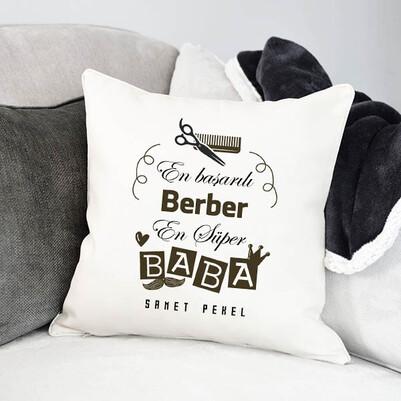 - Berber Babalara Özel Hediye Yastık