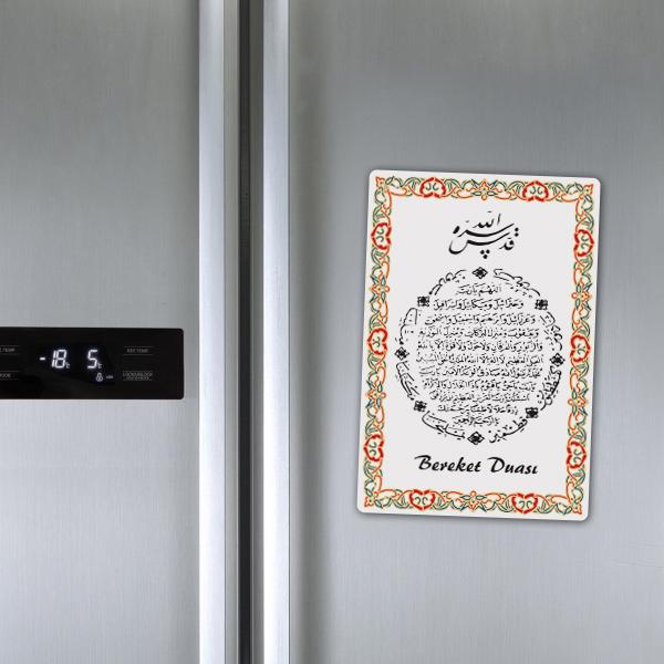 Bereket Dualı Buzdolabı Magneti