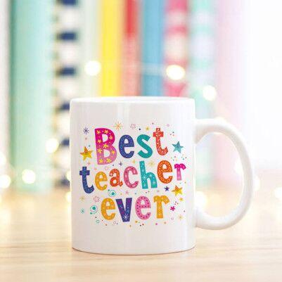 Best Teacher Ever Kupa Bardak - Thumbnail