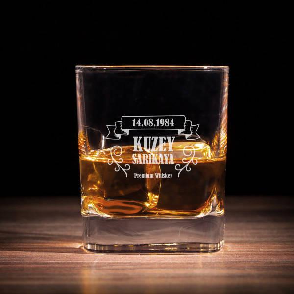 Beylere Hediye Viski Bardağı