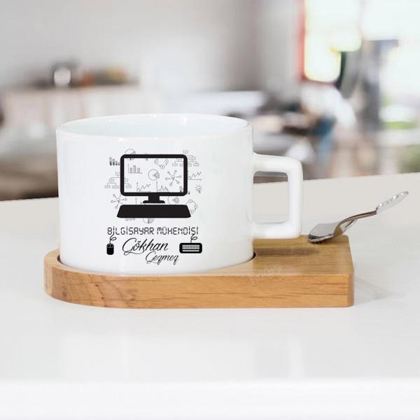 Bilgisayar Mühendisine Hediye Çay Fincanı