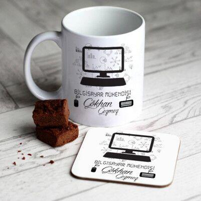 - Bilgisayar Mühendislerine Özel Kupa Ve Bardak Altlığı