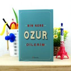 - Bin Kere Özür Dilerim Kitabı