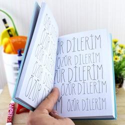 Bin Kere Özür Dilerim Kitabı - Thumbnail