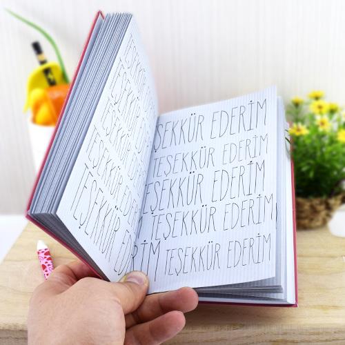 Bin Kere Teşekkür Ederim Kitabı
