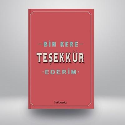 - Bin Kere Teşekkür Ederim Kitabı