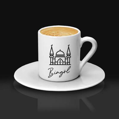 - Bingöl Tasarımlı Kahve Fincanı