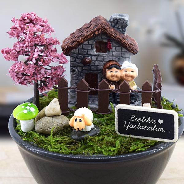 Bir ömür Birlikteyiz Minyatür Bahçe Hediyemencom
