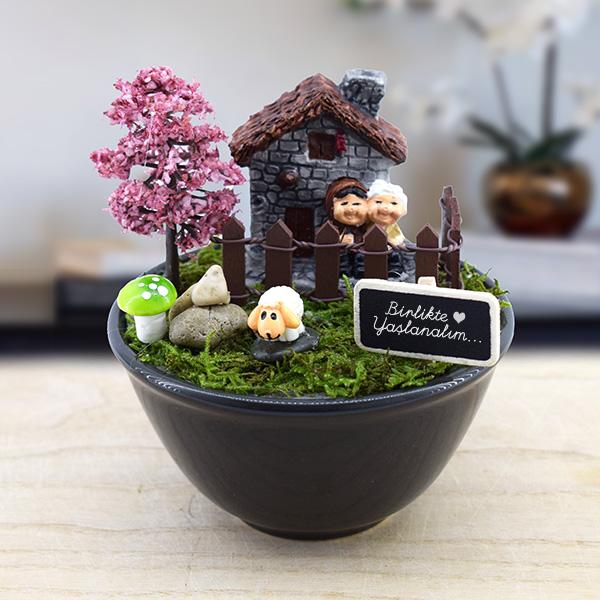 Bir Ömür Birlikteyiz Minyatür Bahçe