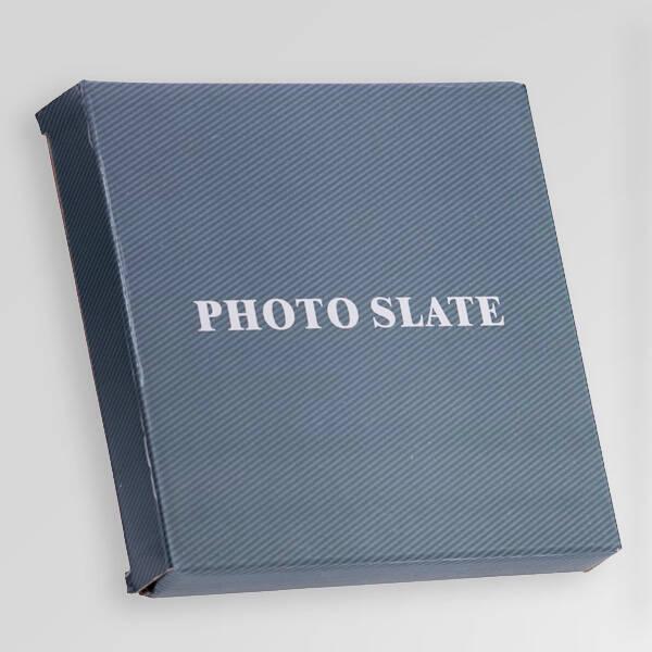 Biricik Babam Fotoğraflı Taş Blok