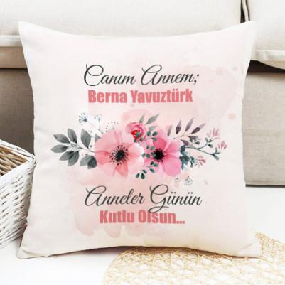 - Biricik Çiçek Annem Yastığı