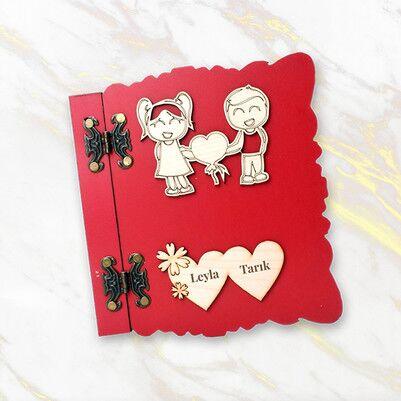 Biricik Sevgilim Romantik Konsept Hediye Kutusu - Thumbnail