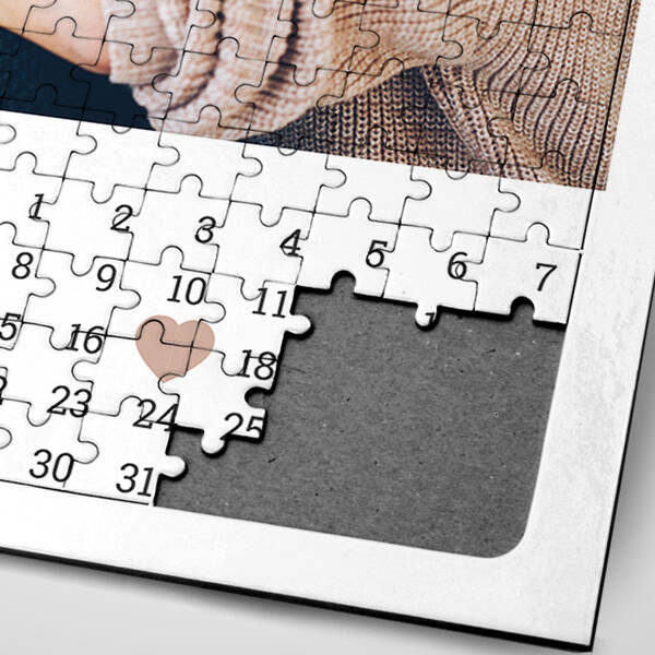 Birinci Yıldönümü Hediyesi Puzzle