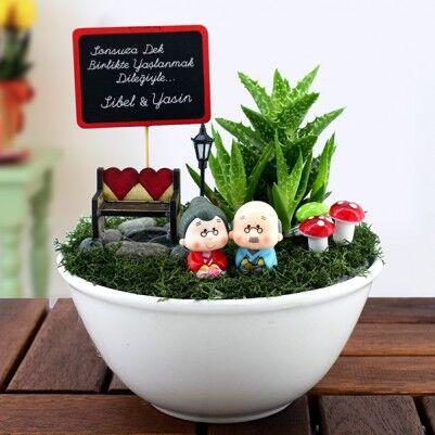 Birlikte Yaşlanalım Minyatür Aşk Bahçesi - Thumbnail