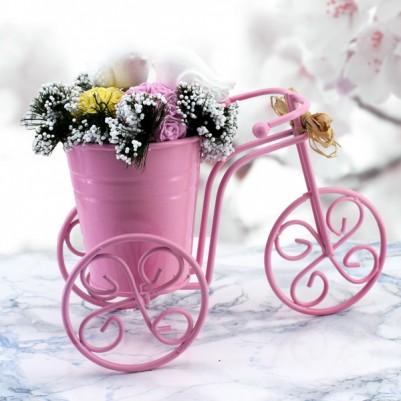 - Bisikletli Kokulu Taş Aranjmanı