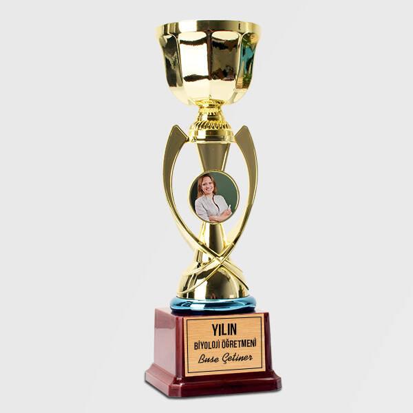 Biyoloji Öğretmenine Hediye Fotoğraflı Ödül