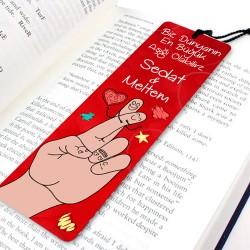 - Biz Dünyanın En Büyük Aşığıyız Kitap Ayracı