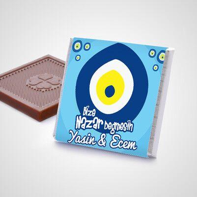 Bize Nazar Değmesin Çikolata Kutusu - Thumbnail