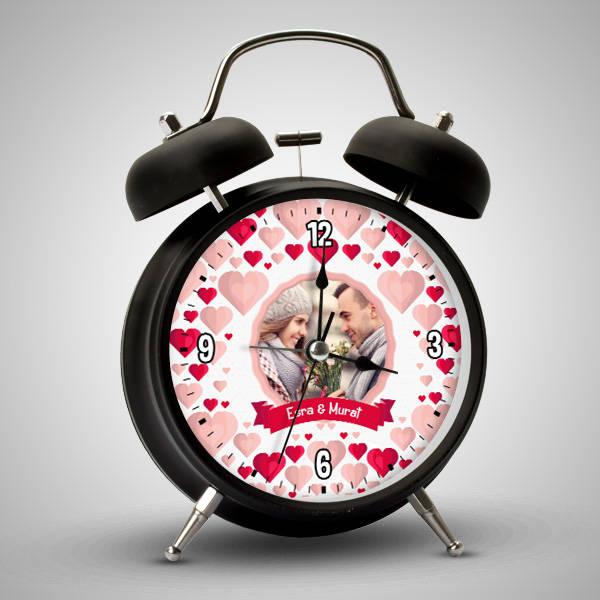Bizim Aşkımız Sevgililere Özel Alarm Saat