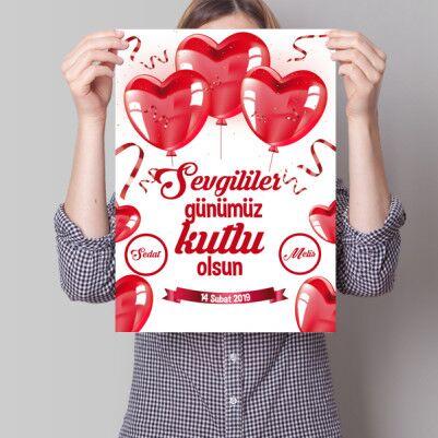 - Bizim Sevgililer Günümüz Kişiye Özel Poster