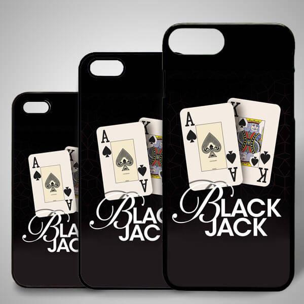 Black Jack iPhone Kapak