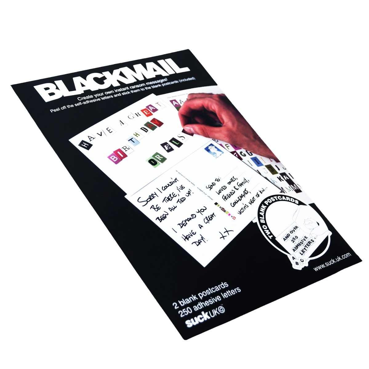 Blackmail - Şantaj Posta Kartı