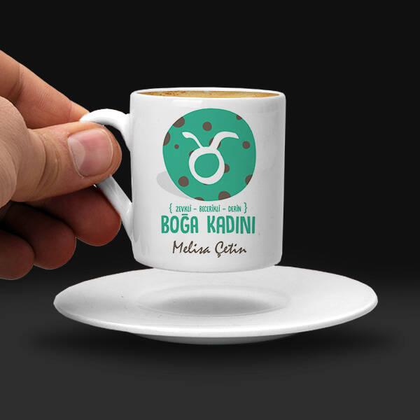 Boğa Burcu Kadınına Hediye Kahve Fincanı
