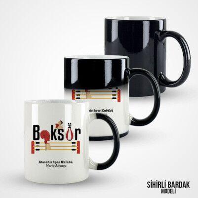 Boksöre Hediye Kupa Bardak - Thumbnail
