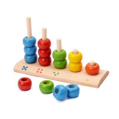 Boncuk Dizme 3 Yaş Ve Üzeri Bebek Oyuncağı - Thumbnail