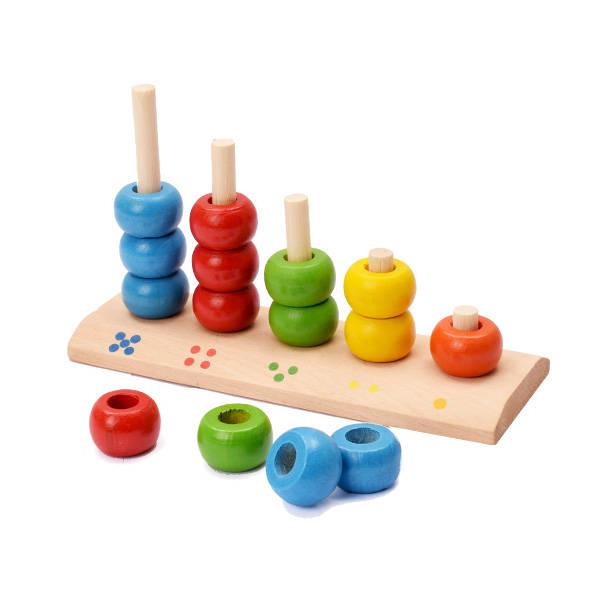 Boncuk Dizme 3 Yaş Ve Üzeri Bebek Oyuncağı