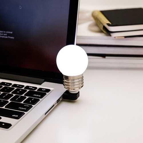 BULB USB LIGHT - Mini USB Ampül