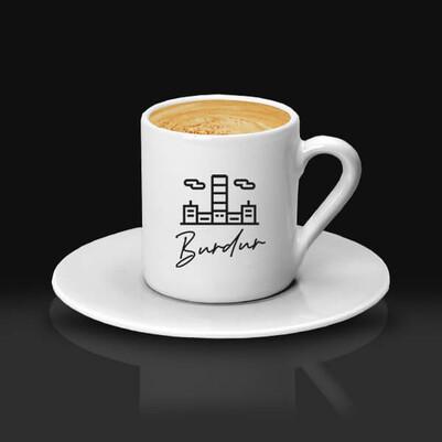 - Burdur Tasarımlı Kahve Fincanı