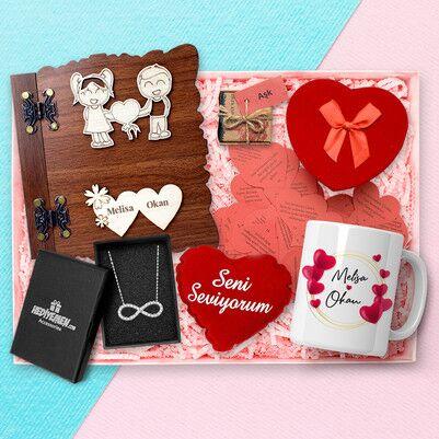 - Büyük Aşkım Romantik Hediye Kutusu