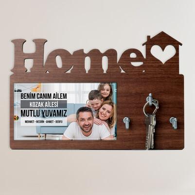 - Canım Ailem Home Anahtarlık Askısı