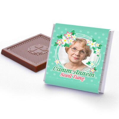 Canım Annem Fotoğraflı Çikolata Kutusu - Thumbnail