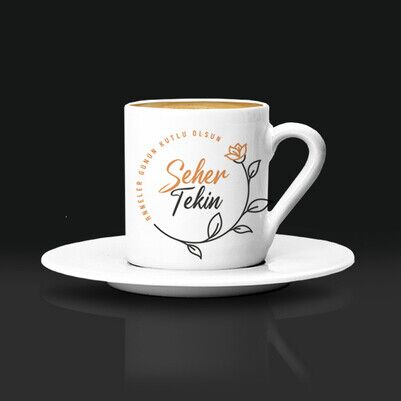 Canım Annem İsimli Kahve Fincanı - Thumbnail